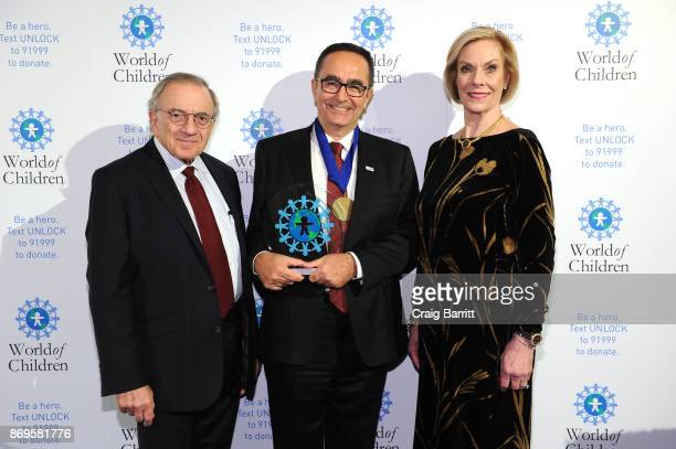 World of Children CoFounder Event CoChair Harry Leibowitz Founder LOSEV Foundation for Children with Leukemia Dr Ustin Ezer and World of Children...