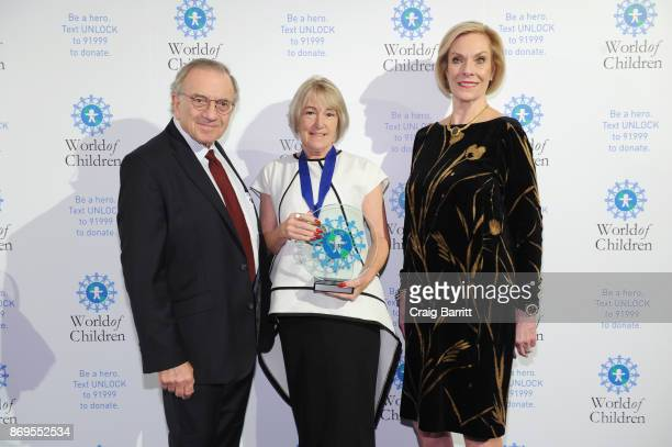 World of Children CoFounder Event CoChair Harry Leibowitz World of Children 2017 Protections Award Founder Operation Bobbi Bear Jackie Branfield and...