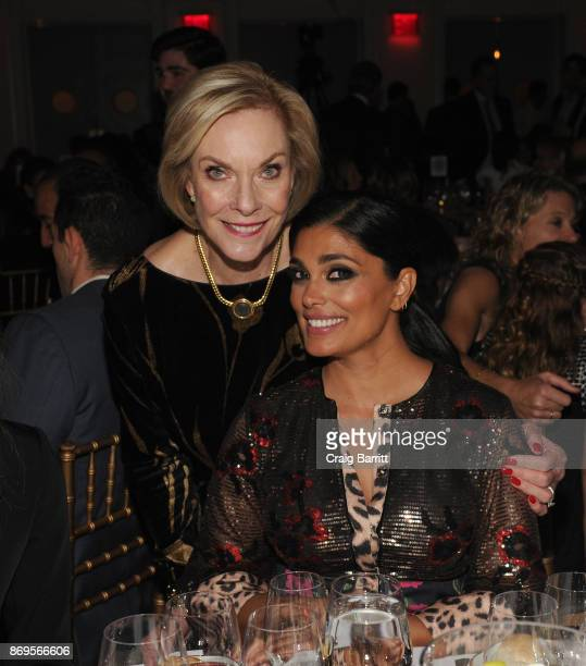 World of Children CoFounder Event CoChair Kay Isaacson Leibowitz and World of Children Celebrity Ambassador Fashion Designer Rachel Roy attend World...
