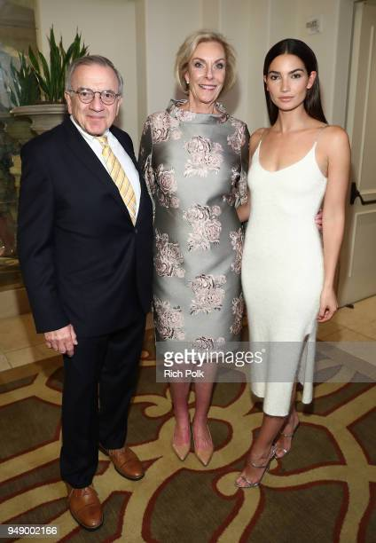 World of Children CoFounder Harry Leibowitz World of Children CoFounder Kay Isaacsonleibowitz and Lily Aldridge Followill attend the 2018 World of...