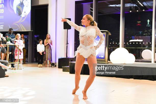 World of Dance finalist Briar Nolet performs at The Amari Thompson Soiree 2019 in support of Epilepsy Toronto held at The Globe and Mail Centre on...