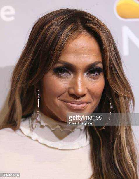 'World of Dance' judge Jennifer Lopez attends a photo op for NBC's 'World of Dance' at the NBC Universal Lot on January 25 2017 in Universal City...