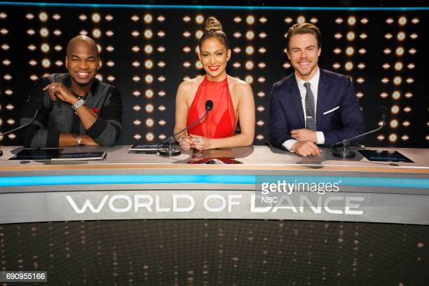 DANCE World of Dance Pictured NEYO Jennifer Lopez Derek Hough