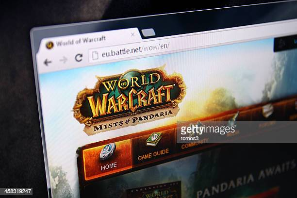 world of warcraft pandaria homepage - world of warcraft stock pictures, royalty-free photos & images