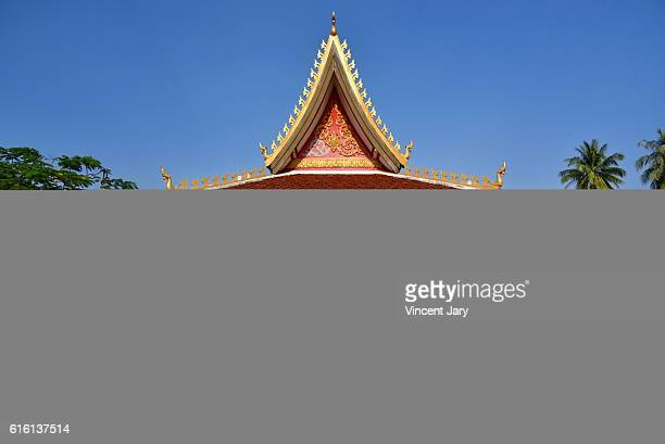 World peace gong Vientiane Laos