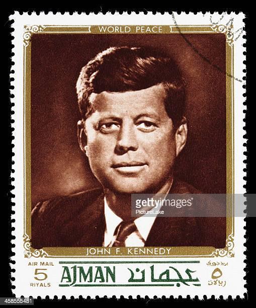 World peace John F. Kennedy postage stamp