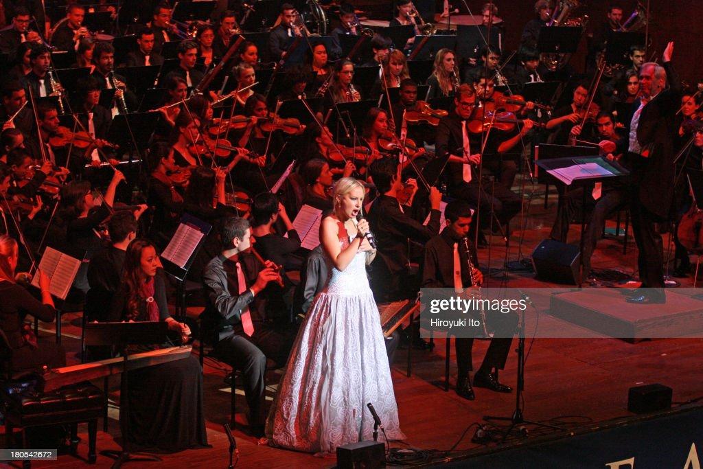 World Peace Orchestra : News Photo