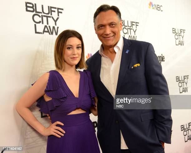 LAW World Premiere Arrivals Pictured Caitlin McGee Jimmy Smits