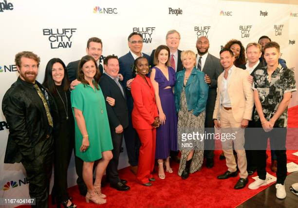 LAW World Premiere Arrivals Pictured Josh Kelly Tracey Pakosta CoPresident Scripted Programming NBC Entertainment Lisa Katz CoPresident Scripted...
