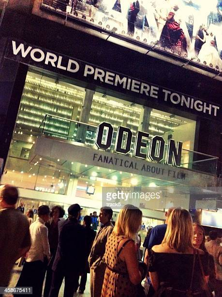 World Premiere, Leicester Square Odeon, London