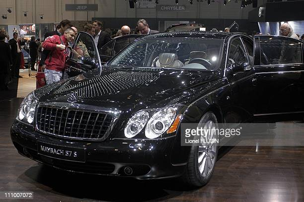 World Premiere Maybach 57 S in Geneve Switzerland on March 01st 2005