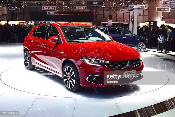 world premiere of fiat tipo in hatchback version - fiat stock photos and pictures