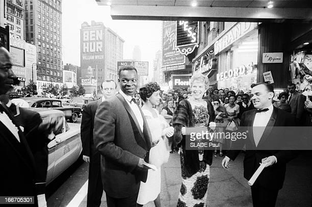 World Premiere Of Film 'Porgy And Bess' By Otto Preminger In New York Le 26 juin 1959 aux États Unis à Broadway dans la cadre de la première mondiale...