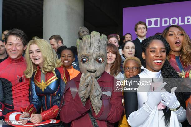 World premiere of Marvel Studios' 'Avengers Endgame' at Los Angeles Convention Center on April 22 2019 in Los Angeles California