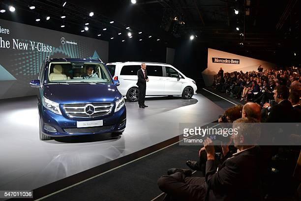 World premiere of Mercedes V-Class