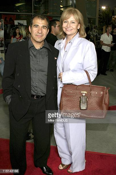 World Premiere of Vlad at the ArcLight Cinema in Hollywood United States on September 08 2004 Producers Tony Shalkat and wife Dina Burke attend the...