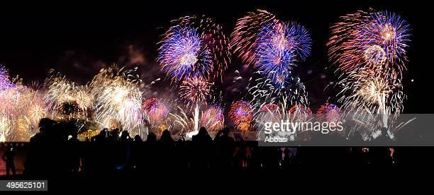 World recording breaking fireworks