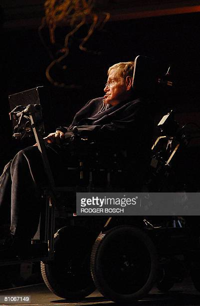 World reknown british astrophysicist Stephen Hawking delivers a lecture on the origin of the universe to coincide with the anouncement of the Next...