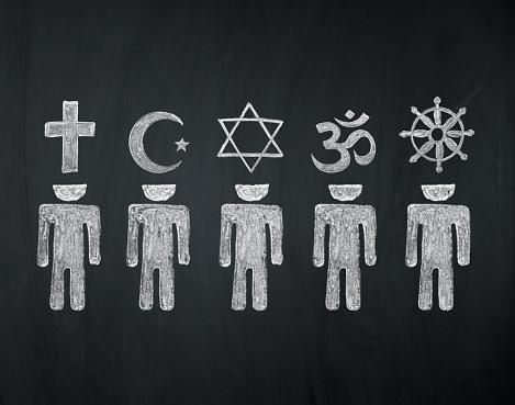 world religions - major religions group 480755124