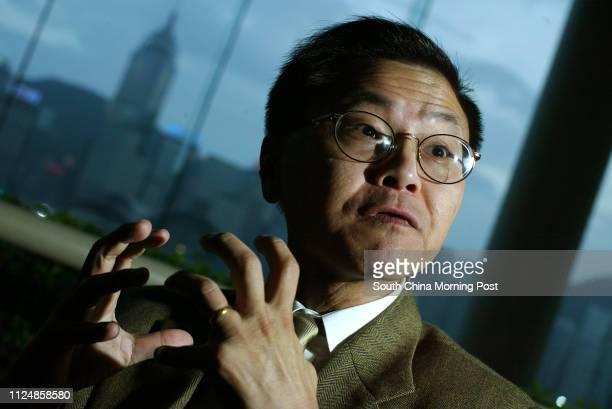 World renowned Aids scientist Dr David Ho Dai at Intercontinental Hotel Tsim Sha Tsui 08 September 2004