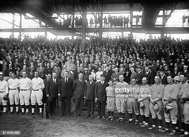 World Series Baseball Game Washington Senators and New York Giants Griffith Stadium Washington DC USA October 1924