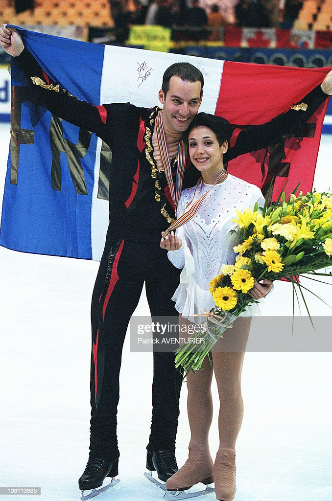 World Skating Championship On March 29Th, 2000 In Nice, France. : ニュース写真