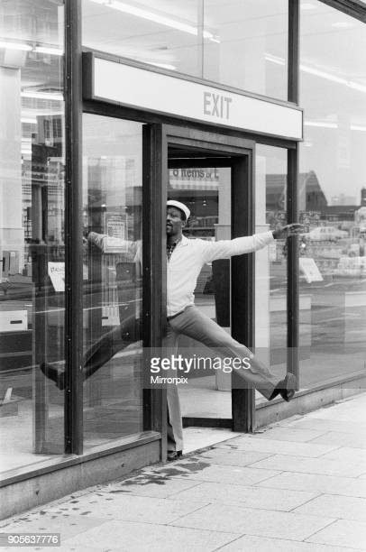 World Super Welterweight champion Maurice Hope ahead of his rematch with Rocky Mattioli for the WBC World Super Welterweight Title 9th July 1980.