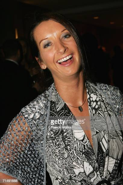 World surfing champion Layne Beachley attends the Jeans For Genes Celebrity Auction at the Sofitel Wentworth July 20 2006 in Sydney Australia
