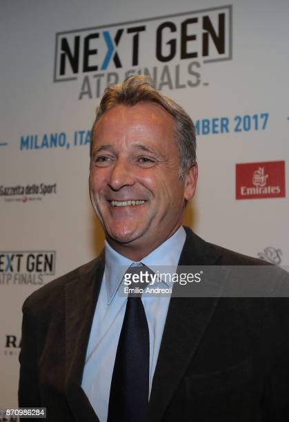 World Tour Executive Chairman and President Chris Kermode poses during the Next Gen ATP Finals Media Day on November 6 2017 in Milan Italy