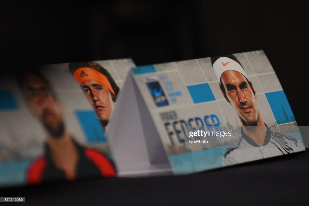 ATP World Tour Finals Media Day : Foto di attualità