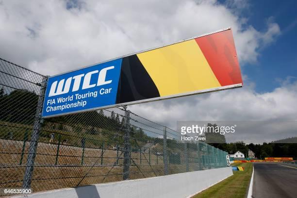 World Touring Car Championship sign, FIA Formula 3 European Championship, round 5, race 1, Spa-Francorchamps - 20. - 22. June 2014