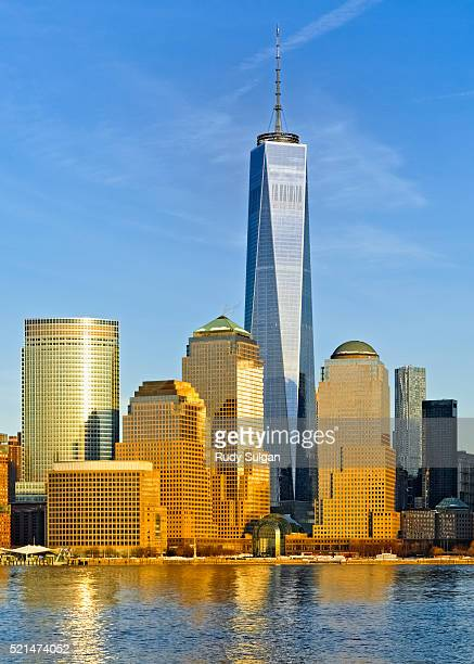 world trade center and new york world financial center - one world trade center stock pictures, royalty-free photos & images