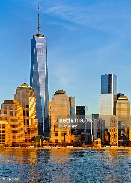 World Trade Center and New York World Financial Center