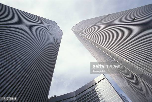 world trade center in new york - on this day september 11 attacks stock pictures, royalty-free photos & images