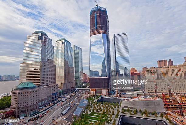 world trade center, em nova york - monumento comemorativo - fotografias e filmes do acervo