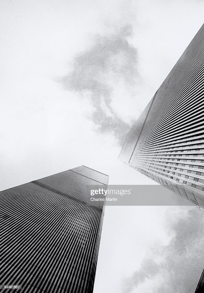 World Trade Center Towers : Stock Photo