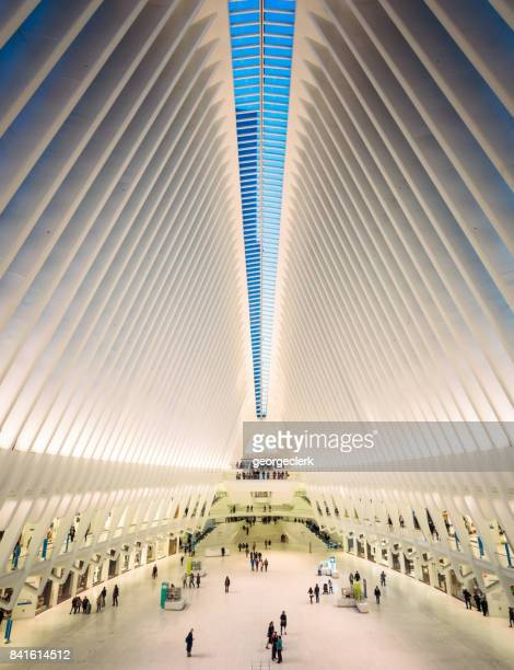 World Trade Centre Oculus Transportation Hub interior