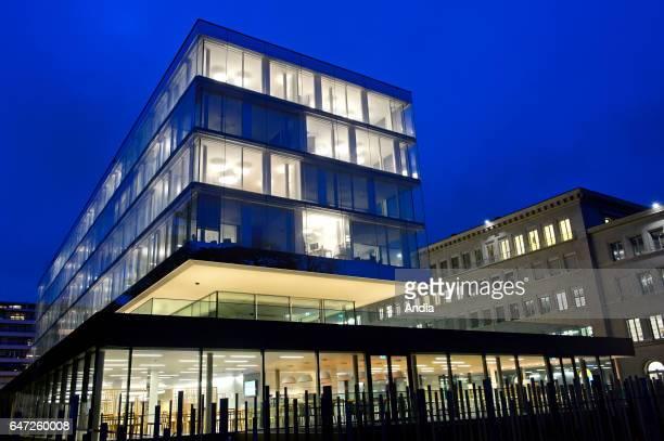 World Trade Organization Headquarters new building in Geneva Switzerland
