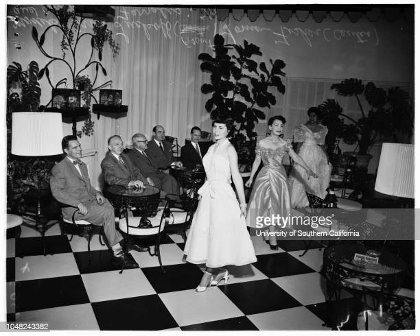 World Trade Week dance 6 May 1952 Carol LuckoffLorna FisherAmparo FarralesGeorge BushnellJoseph B Banning JuniorAP SmithRobert D HudsonSJ...