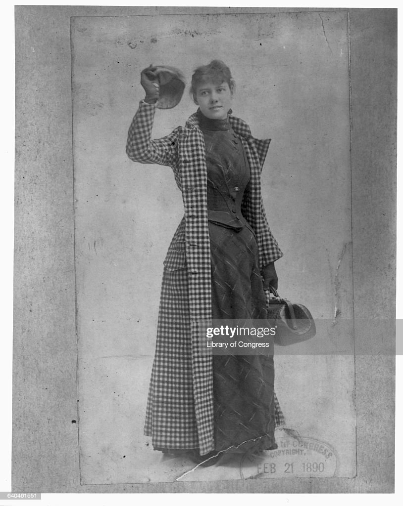 World Travelling Journalist Nellie Bly, or Elizabeth Cochran : News Photo