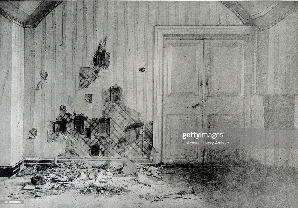 The room where the imperial family were massacred : News Photo
