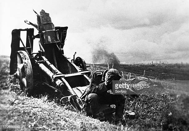 World war 2 a german soldier captured near the city of orlov in the summer of 1943 kursk region