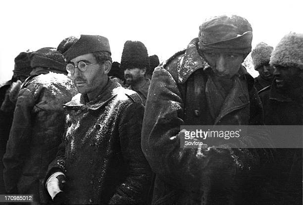 World war 2 battle of stalingrad the prisoners of the 'pot' at kalacha
