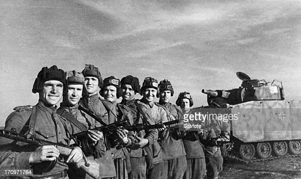 World war 2 july 1943 the orelkursk direction a group of scouts under the direction of captain zakrevsky captured a german tank in full order with...