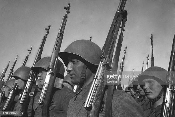 World war 2 red army soldiers 1941