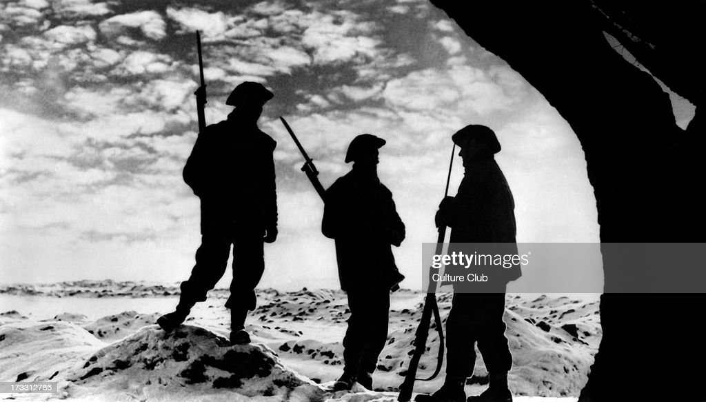 World War 2: Sunset on the Western Front : News Photo