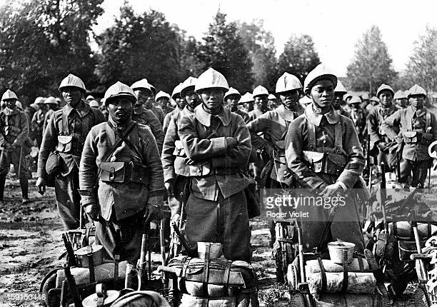 World War I Battalion of Annamites in the Somme