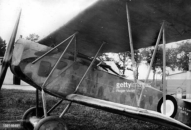 World War I German fighter plane Fokker D VII