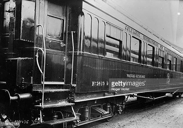 World War I The train car of the Armistice in Compiègne