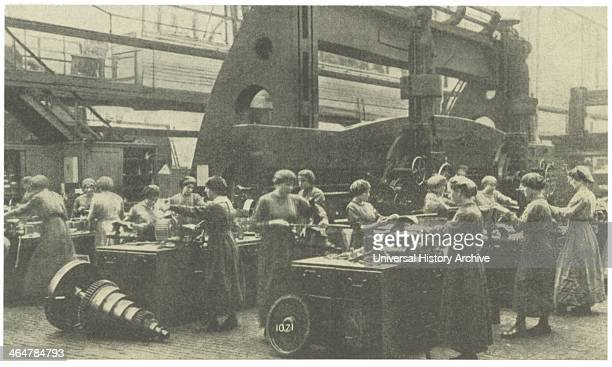 Women munitions workers at Krupps Essen Germany